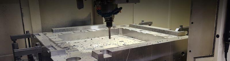 CNC obdelava orodnih plošč -