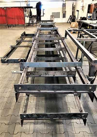 Welding steel and light steel constructions -