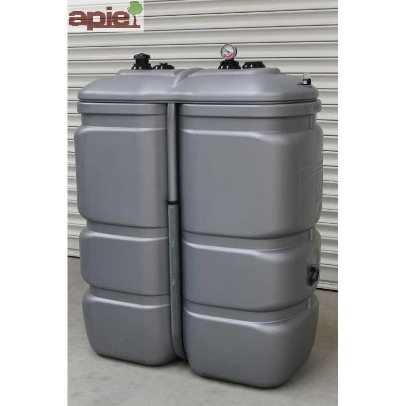 Cuve 1000 L pour le stockage d'huiles - gamme CFPE - Référence : CFPE1000/H