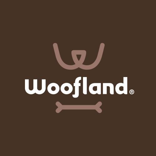 Woofland - Λογότυπο, Branding, Συσκευασία, Εικονογράφηση, Έντυπο, Τυπογραφικός Σχεδιασμός
