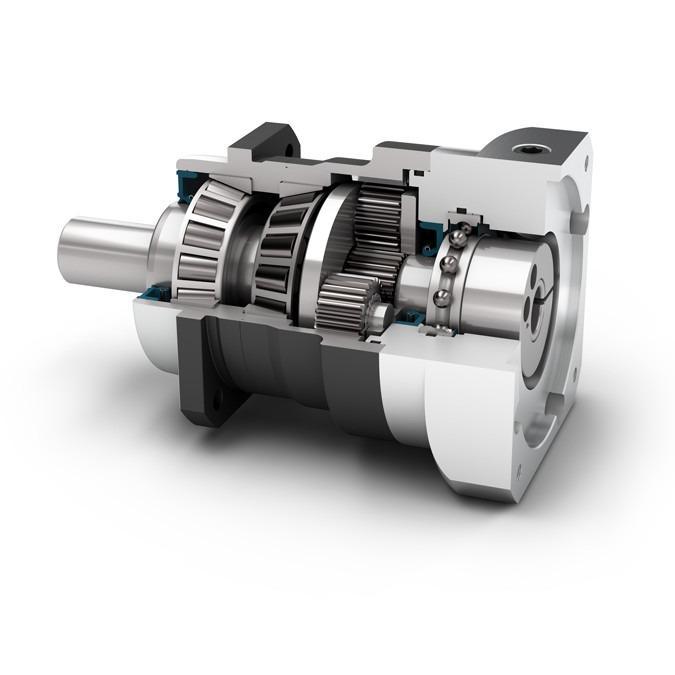 Reductor planetario PLN - Reductor de precisión con eje de salida - Dentado recto - IP65 -  NEUGART