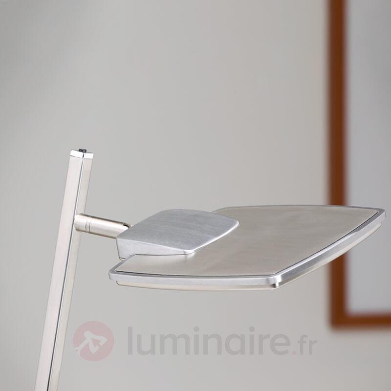 Lampadaire LED moderne Quadra, à une lampe - Lampadaires LED