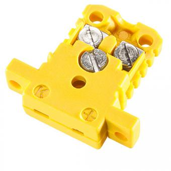 Miniature case type K, yellow - Thermocouple connectors
