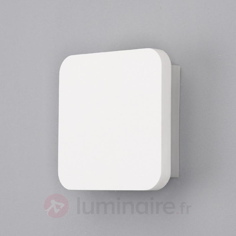 Applique LED en plâtre Gypsum moderne - Appliques LED