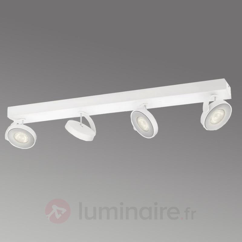 Spot de plafond LED Clockwork blanc - Spots et projecteurs LED