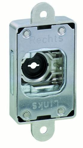Interchangable locking system - Cylinder adapter