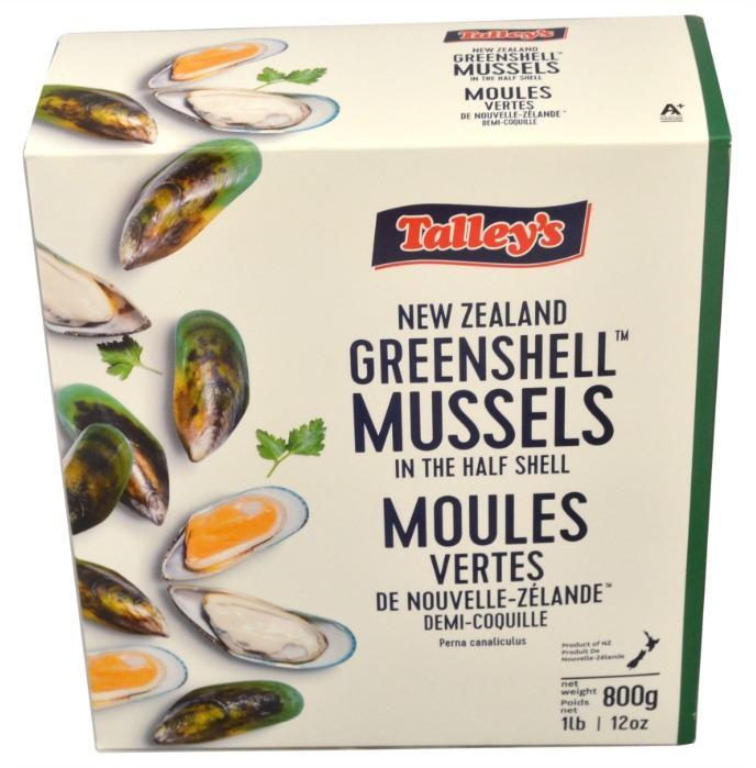 Mexilhão NZ 1/2 Concha Talleys -