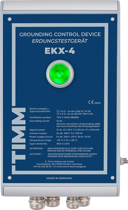 Topraklama Kontrol Cihazı EKX-4 -