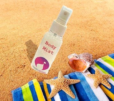 Body Mist 100ml Spray - Ενυδατικό άρωμα χωρίς Οινόπνευμα