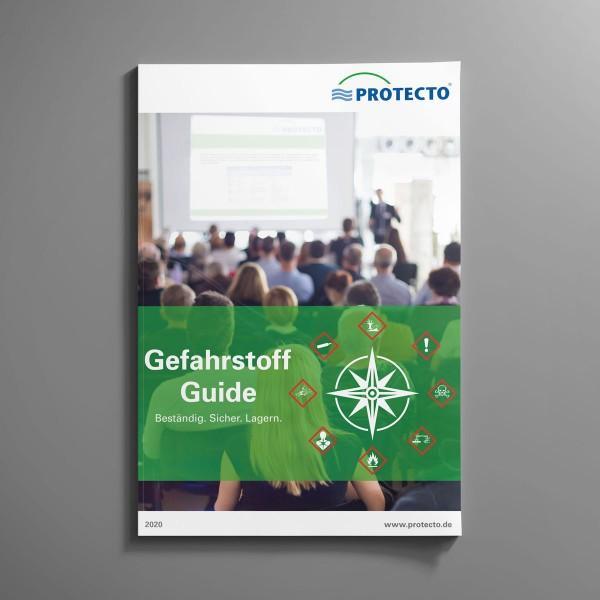 PROTECTO Gefahrstoff-Guide 2020 - Gefahrstoffcontainer