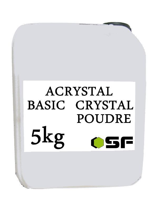 Résines, poudres et liquides - ACRYSTAL BASIC CRYSTAL EN 5KG