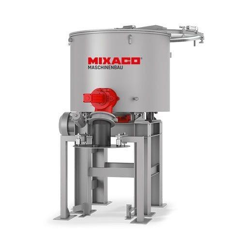 MIXACO Universal Mixer vertical - MIXACO Universal Mixer: flexible designs, sizes & applications