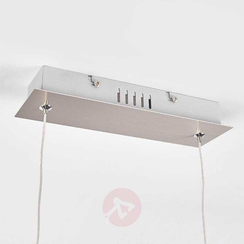 Puristic LED pendant lamp Iven - Pendant Lighting