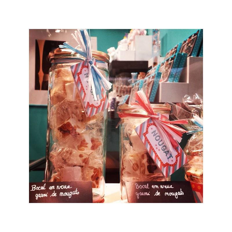 6 vasi WECK Tube® 1040 ml  - con coperchi in vetro e Guarnizioni (graffe non incluse)