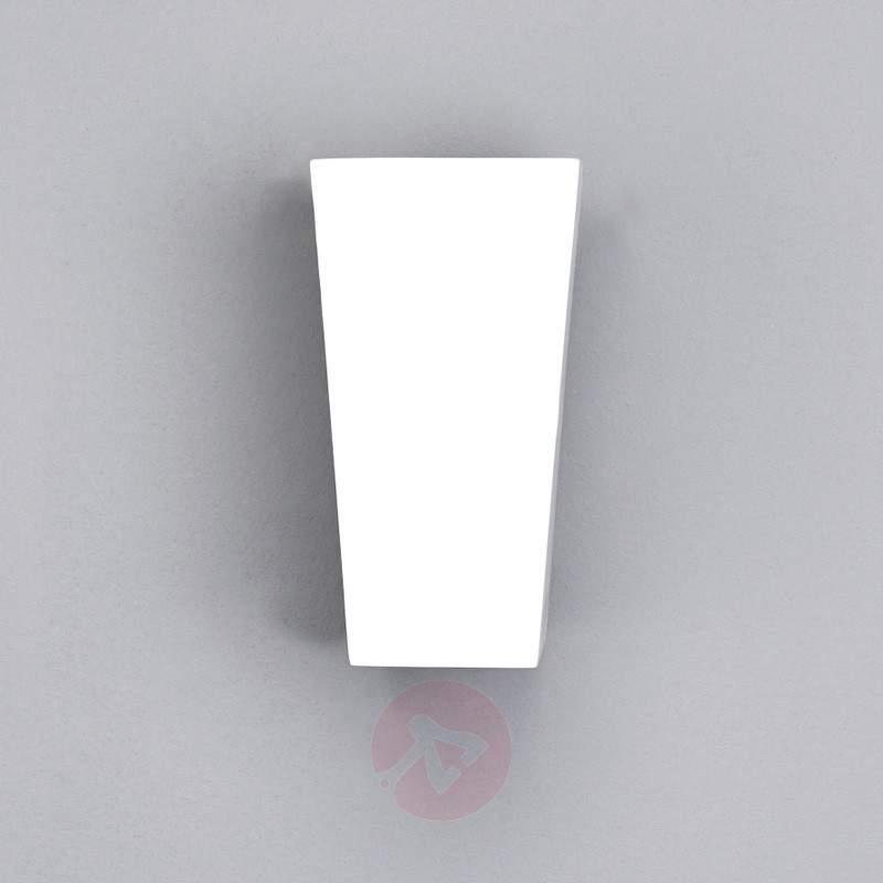 Lenja Wall Light G9 Bulb Fitting Plaster White - Wall Lights