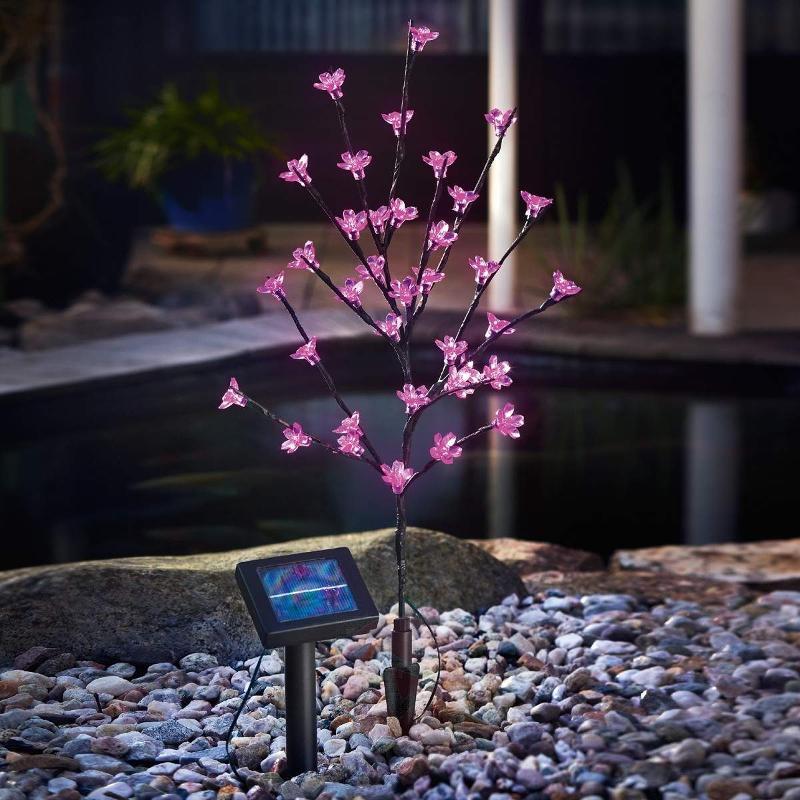 Solar LED flower shrub - Decorative Solar Lights