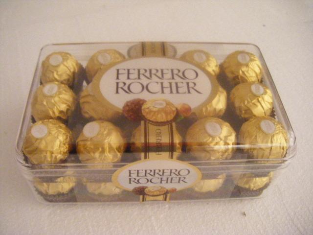 FERRERO FERRERO ROCHER plastic box 30 pcs 375gr
