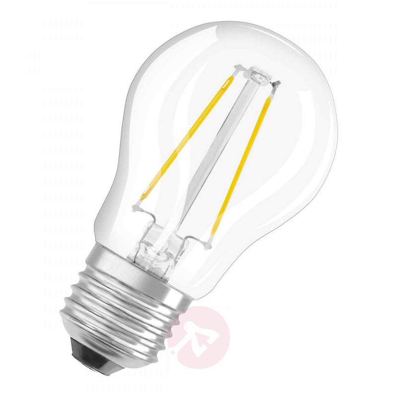 E14 2 W LED filament golf ball bulb - light-bulbs