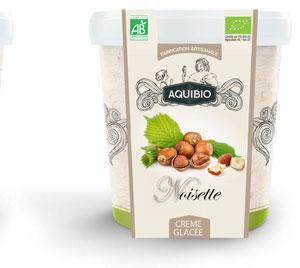 Crème glacée BIO noisette - Glace biologique