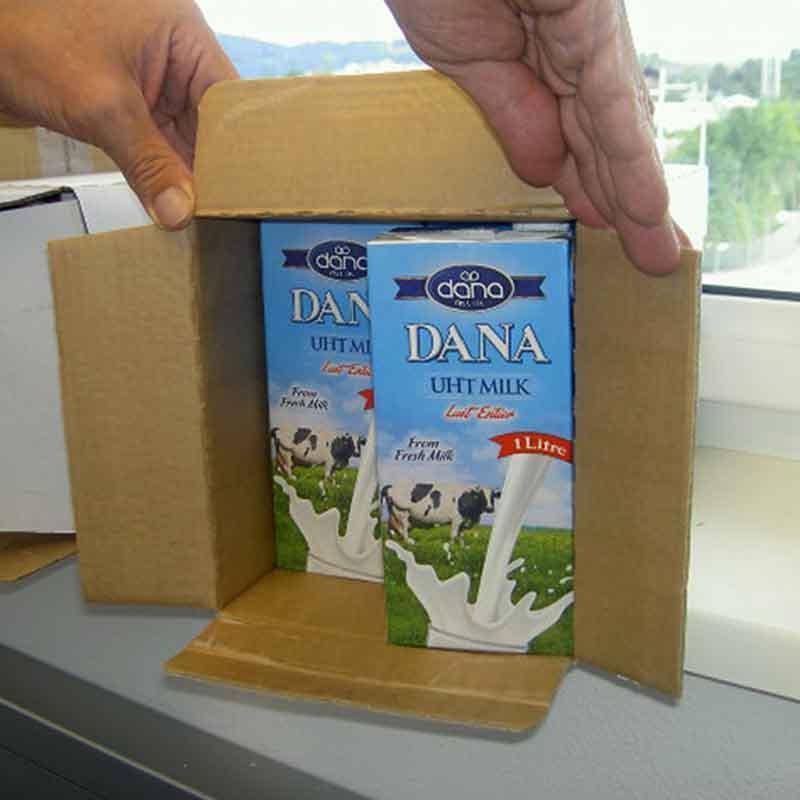 Leite integral UHT 3,5% de gordura com tampa de rosca - Leite integral UHT DANA 3,5% de gordura de leite de vaca fresco e 12 meses