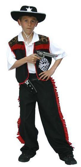 Costume enfant de cow-boy - null