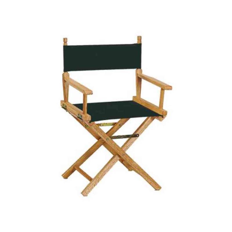 Chaise metteur en scène noir - Transats personnalisés