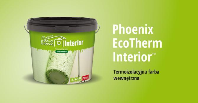 Phoenix EcoTherm  Interior - energooszczędna termoizolacyjna farba do wnetrz
