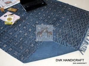 Rugs and Carpets, indias cotton indigo handmade rugs