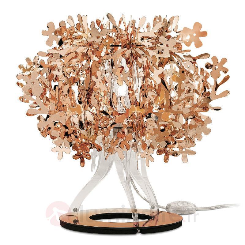 Lampe à poser de designer Fiorellina, cuivré - Lampes à poser designs