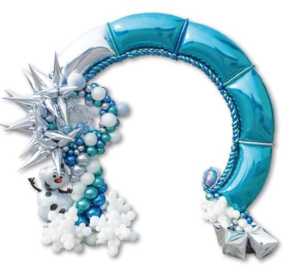 ARCH BALLOON - Modular foil balloon arch