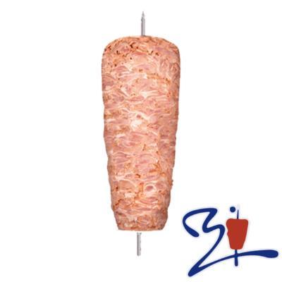 Doner Kebab Ternera en filetes y pavo 10 Kg - I.V.A. y portes incluidos. Marca Ismael's Kebab. Calidad Premium.