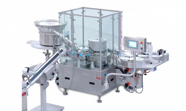 Labelling and Assembly Machine INOVA EK - Labelling and Assembly Machine INOVA EK: Syringes