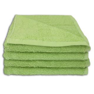 4 Stück Handtuch Set 50x100cm Farbe: Jade - null