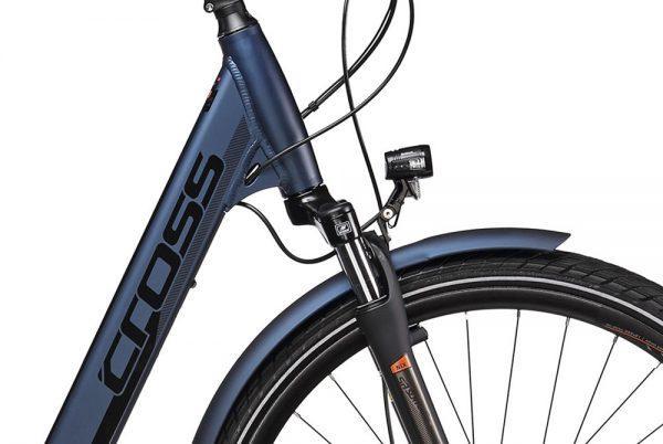 CROSS E-BIKE – ELEGRA LOW STEP sistema Shimano STEPS E6000, bateria 418W,36V - Cross