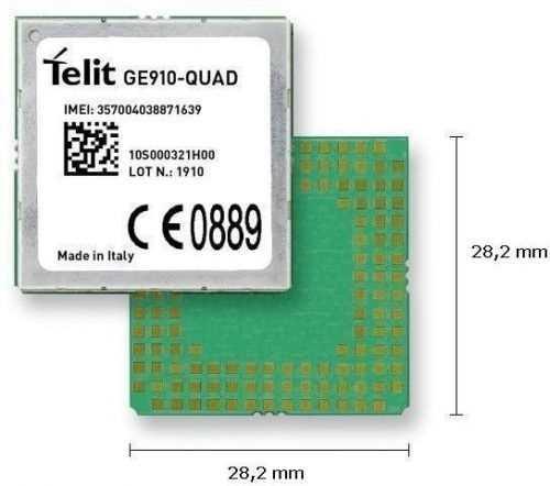 Telit 2G, GPS Module GE910-GNSS - EMEA, Latin America, North America, APAC, Australia,
