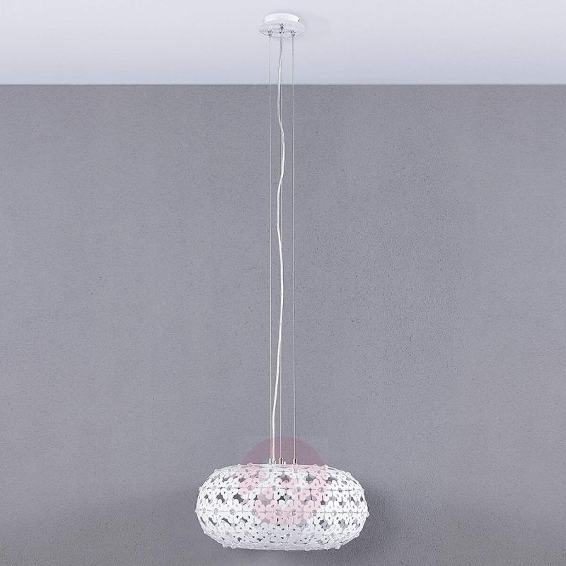 Chara pendant light with a floral design - indoor-lighting
