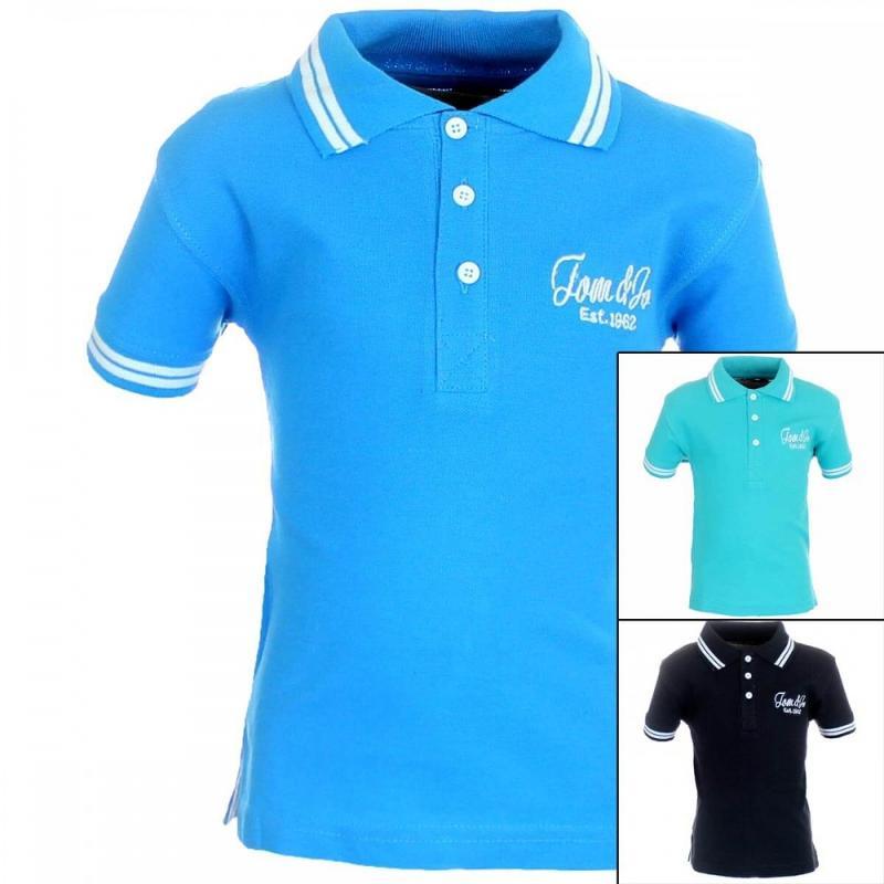 20x Polos manches courtes Tom Jo du 6 au 14 ans - T-shirt et polo manches courtes
