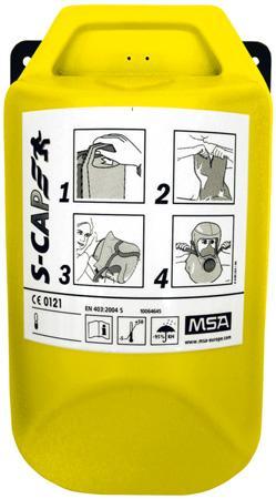 Equipements / Bagagerie Appareils respiratoires - APPAREIL EVACUATION FILTRANT S-CAP