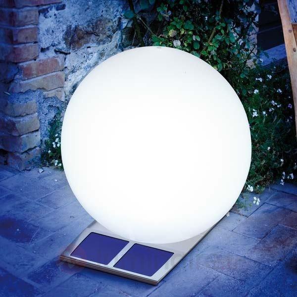 Boule lumineuse solaire Super Trendy, blanc - Toutes les lampes solaires