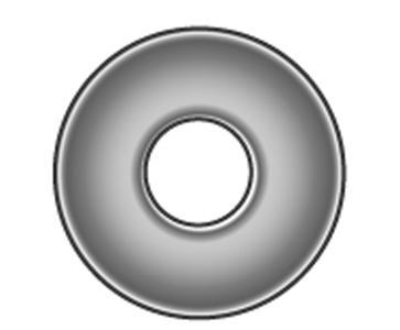Flache Scheiben, große Reihe, 200 HV - Material A2 | A4