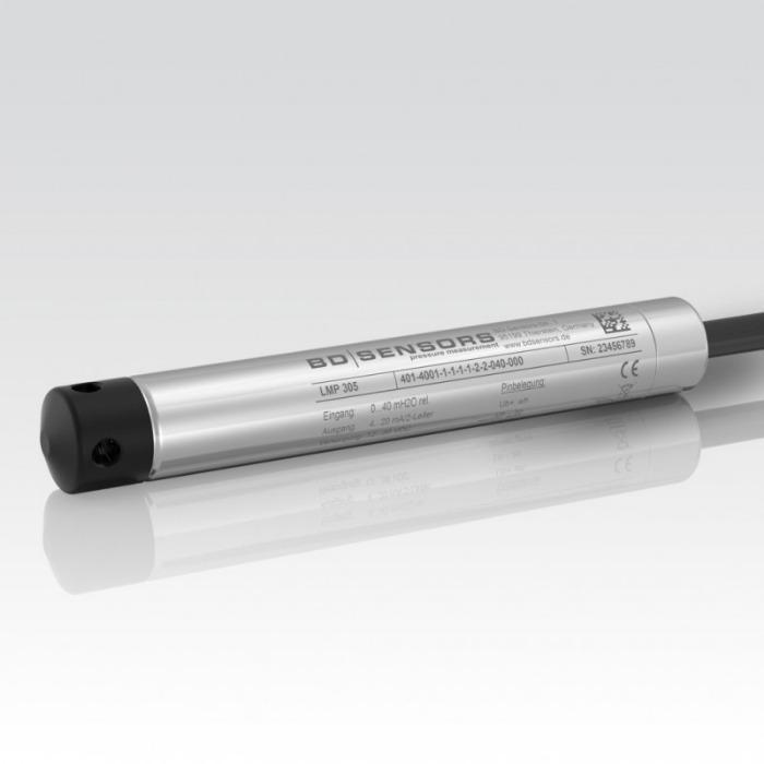 Hydrostatic Level Probe LMP 305 - hydrostatic level sensor / for liquids / thin