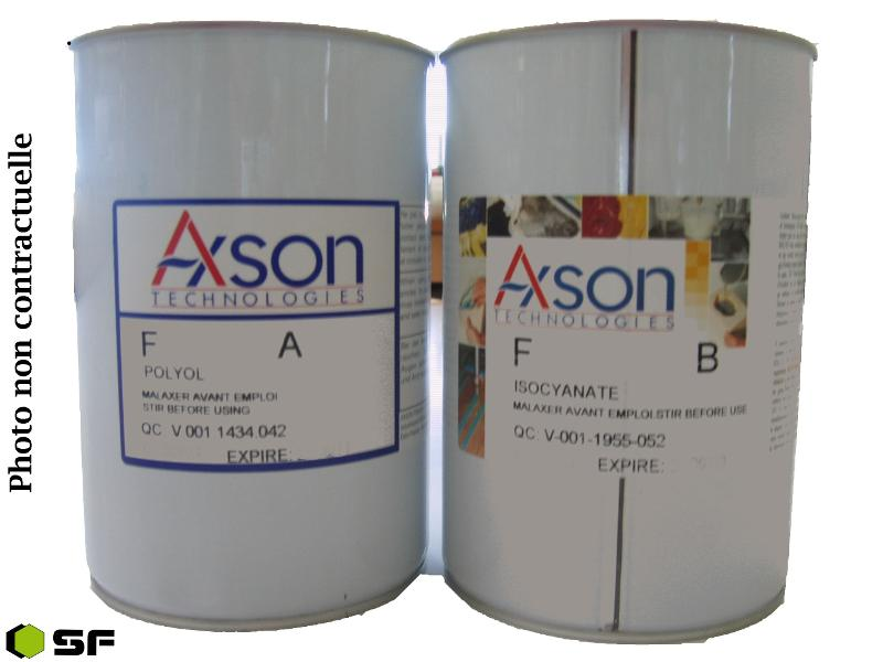 RESINE PU RAPIDE F23 KIT 1.2KG - Resines polyurethanes Fastcast et prototypage rapi