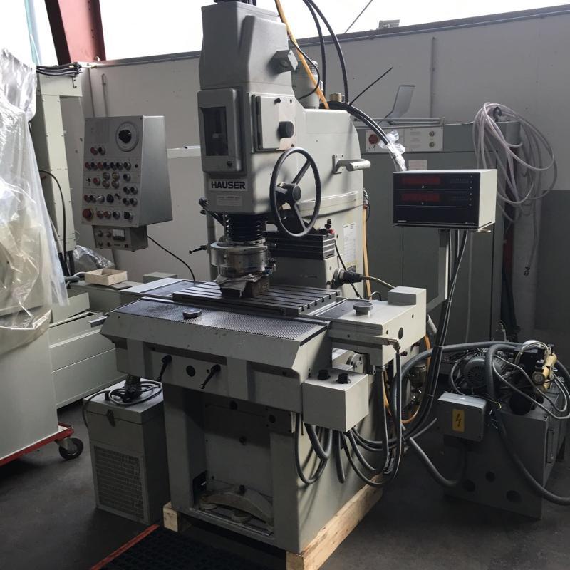 Koordinatenschleifmaschine  - Hauser 3SM- DR Heidenhain Digitalanzeige