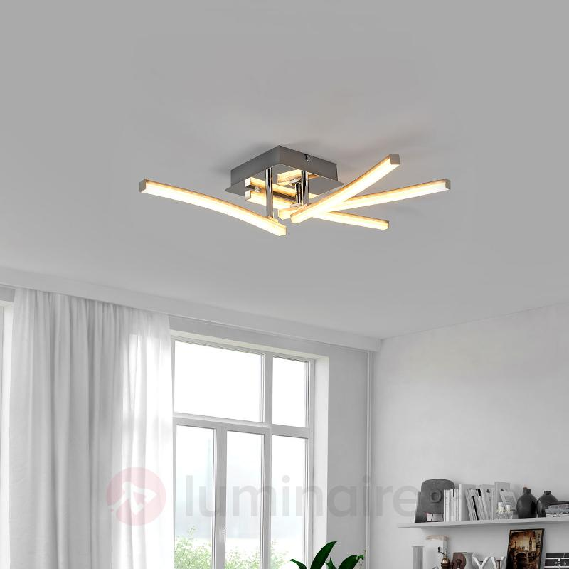 Plafonnier LED Simon avec bras rotatifs - Plafonniers LED