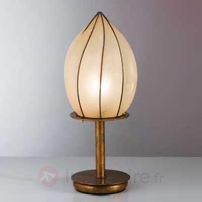 Lampe à poser POZZO en verre Scavo 48 cm - Lampes de chevet