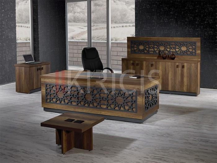 ELISE FLAT TURKISH VIP MANAGER OFFICE FURNITURE SET
