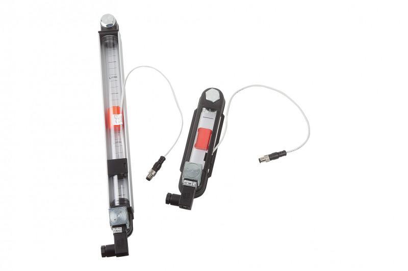 Ölstandsanzeiger mit elektrischer Standüberwachung - Ölstandsanzeiger können den Füllstand anzeigen und über REED-Schalter erfassen.
