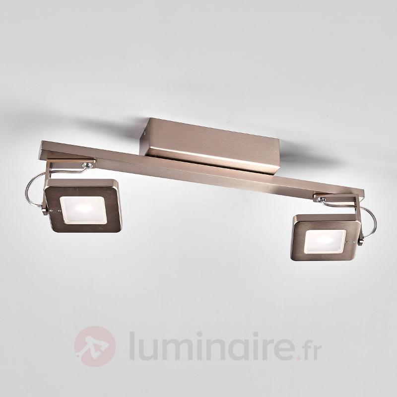 Kena - plafonnier à deux lampes, variable - Plafonniers LED