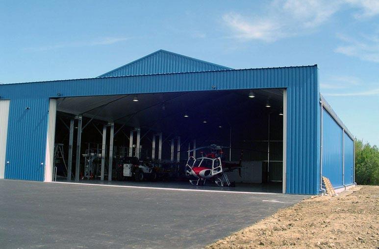 Aéroclub - Système de construction - Bâtiments sportifs et Espaces Loisirs