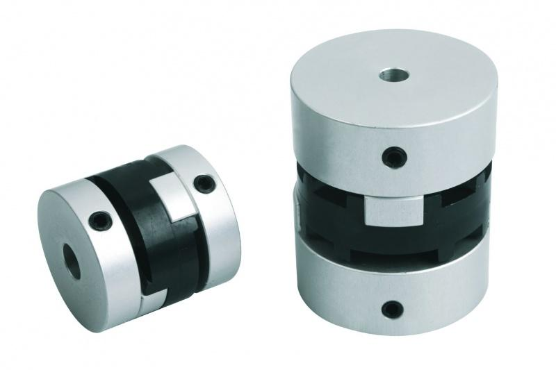 Oldham-type couplings clamping with grub screw
